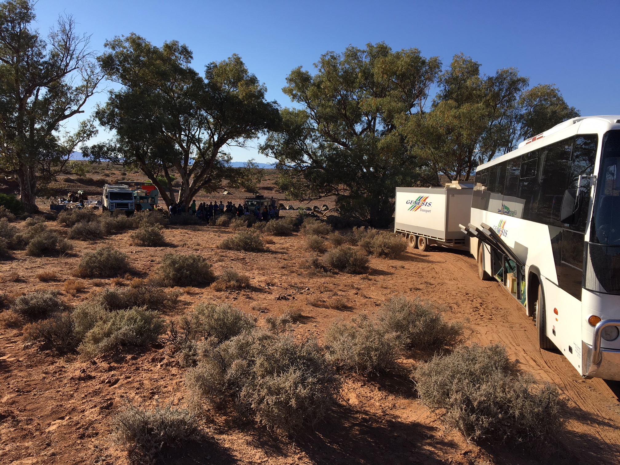 Camel Trek Australia transfer